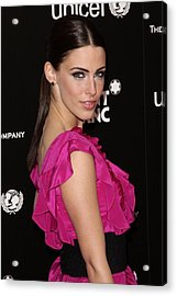 Jessica Lowndes In Attendance For The Acrylic Print by Everett