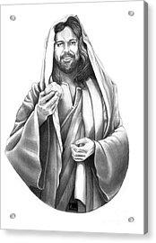 Jesus Christ Acrylic Print by Murphy Elliott