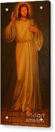 Jesus I Trust In You - Jesus Christ Of Nazareth Acrylic Print by Lee Dos Santos