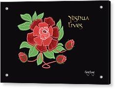 Jesus Lives Acrylic Print by Greg Long