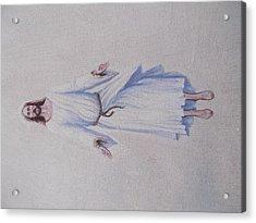 Jesus Acrylic Print by Michael Wawrzyniec