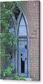 Acrylic Print featuring the photograph Jesus Saves 2 by John Crothers