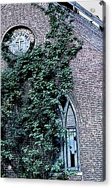 Acrylic Print featuring the photograph Jesus Saves...just Not This Church by John Crothers