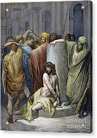 Jesus: Scourging Acrylic Print by Granger
