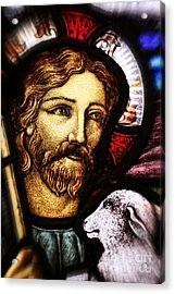 Jesus The Good Shepard Acrylic Print