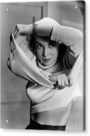 Jet Pilot, Janet Leigh, 1950, Released Acrylic Print by Everett