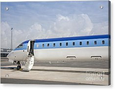 Jet Plane With Extended Steps Acrylic Print by Jaak Nilson