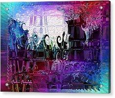 Acrylic Print featuring the digital art Jewell by Sadie Reneau