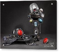 Jewellery Still Life Acrylic Print by Oleksiy Maksymenko