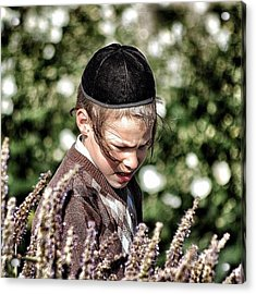 Jewish Boy - New York Acrylic Print