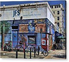 Jewish Family Center Venice Beach California  Acrylic Print