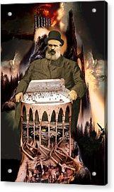 Jewish Heritage Acrylic Print by E  Kraizberg