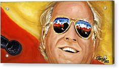 Jimmy Buffet At The Jazz Fest Acrylic Print by Terry J Marks Sr