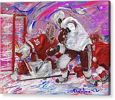 Jimmy Howard II Acrylic Print by Donald Pavlica
