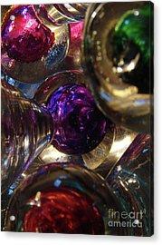 Jingle Balls Acrylic Print by Mark Holbrook
