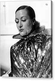 Joan Crawford, 1934, Photo By Hurrell Acrylic Print by Everett