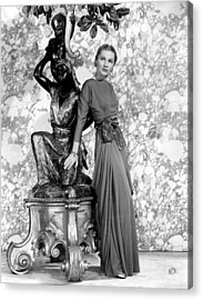 Joan Fontaine Acrylic Print by Everett