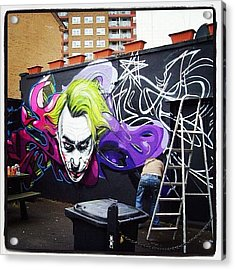 #jody#flx#bristolgraffiti #bristolart Acrylic Print