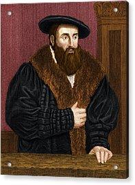 Johannes Kepler, German Astronomer Acrylic Print by Maria Platt-evans