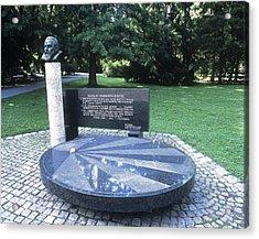 Johannes Kepler Monument, Austria Acrylic Print by Martin Bond