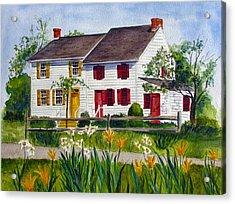 John Abbott House Acrylic Print