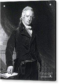 John Abernethy, English Surgeon Acrylic Print by Science Source