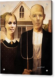 John And Kate Plus Eight Acrylic Print by Anthony Caruso