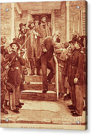 John Brown: Execution Acrylic Print by Granger