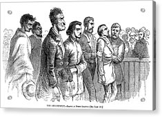 John Brown Trial, 1859 Acrylic Print by Granger