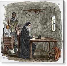 John Dee And Edward Kelly Acrylic Print