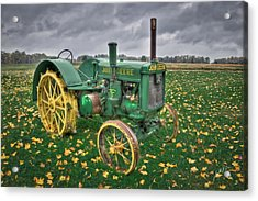 Acrylic Print featuring the photograph John Deere 1 by Williams-Cairns Photography LLC
