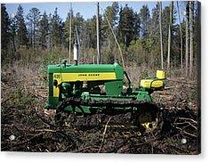 John Deere Tractor Model 430 Acrylic Print