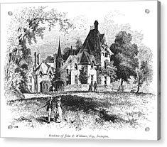 John E. Williams Residence Acrylic Print by Granger