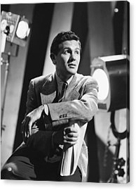 John Garfield, No Date Acrylic Print by Everett