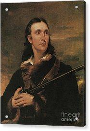 John James Audubon, French-american Acrylic Print by Photo Researchers