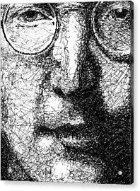 John Lennon Acrylic Print by Larry Joe
