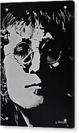 John Lennon Acrylic Print by Lisa Masters