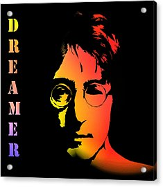 John Lennon Acrylic Print by Steve K