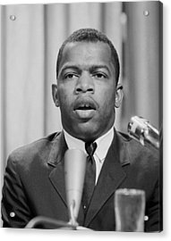 John Lewis, Founder Of The Student Acrylic Print by Everett