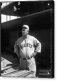 John Mcgraw -  New York Giants Acrylic Print by David Bearden
