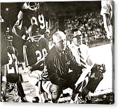 John Mckay On The Sidelines Acrylic Print