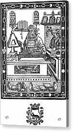 John Peckham, Anglican Theologian Acrylic Print by Science Source