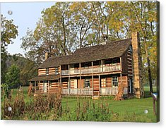 John T Mathias Homestead Acrylic Print by Frank Wickham