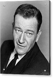 John Wayne, Warner Brothers, 1956 Acrylic Print by Everett