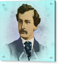 John Wilkes Booth, Assassin Acrylic Print by Photo Researchers