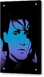 Johnny As Edward Acrylic Print by Jera Sky