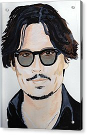 Johnny Depp 4 Acrylic Print