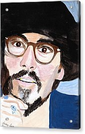 Johnny Depp 5 Acrylic Print