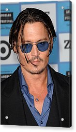 Johnny Depp At Arrivals For 2009 Los Acrylic Print by Everett