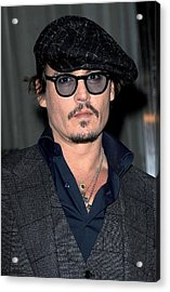 Johnny Depp At Arrivals For Playboy Acrylic Print by Everett